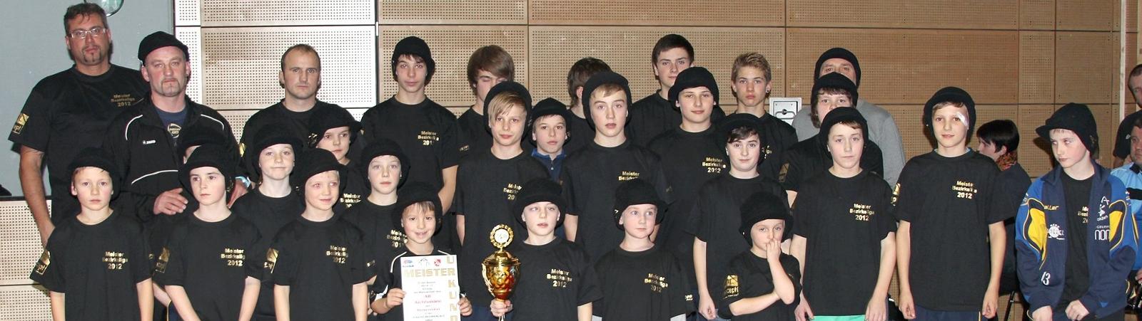 Banner Meisterschaft Schüler 2013