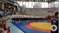 Mannschaftsbild Aufstieg Landesliga 2020